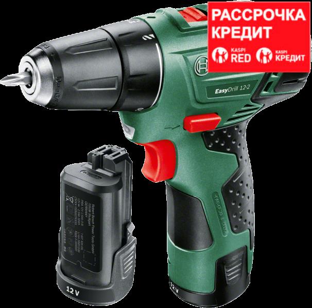 Аккумуляторный шуруповерт Bosch EasyDrill 12-2 (2 АКБ)