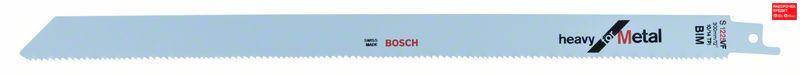 Сабельное полотно по металлу Bosch Heavy for Metal S 1225 VF, 5 шт