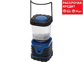 Светильник ЗУБР светодиодный кемпинговый, 3 режима, 3*D, 3Вт(150Лм) (61830-150)