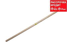 РОССИЯ черенок деревянный для снеговых лопат 2-й сорт, 32х1200мм (39439-SX)