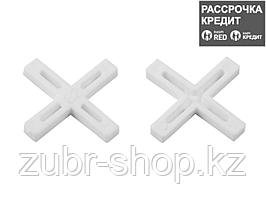 ЗУБР 2мм крестики для плитки, 200шт (33811-2)