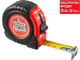 MIRAX 3м / 18мм рулетка в обрезиненном пластиковом корпусе (34011-03-18_z01)