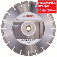 Алмазный отрезной круг по бетону Bosch Standard for Concrete 300x20/25.4x2.8x10 мм, фото 1