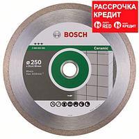 Алмазный отрезной круг по керамике Bosch Best for Ceramic 250x30/25.4x2.4x10 мм, фото 1