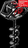 Мотобур (бензобур) со шнеком, d=60-250 мм, 52 см3, 2 оператора, ЗУБР (МБ2-250 Н)