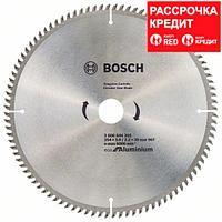 Пильный диск Bosch Eco for Aluminium 254х30, Z96, фото 1