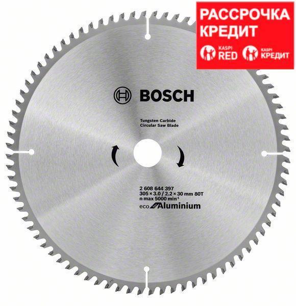 Пильный диск Bosch Eco for Aluminium 305х30, Z80