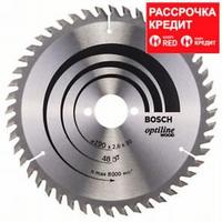 Пильный диск Bosch Optiline Wood 190 x 30, Z48