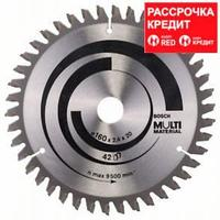Пильный диск Bosch Multi Material 160х20/16, Z42