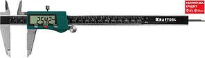 KRAFTOOL штангенциркуль электронный, металлический, 200мм (34460-200)
