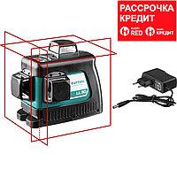 KRAFTOOL LL 3D нивелир лазерный, в коробке (34640)