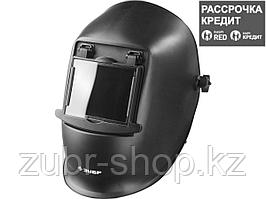 ЗУБР МСО-11 затемнение 11 маска сварщика со стеклянным светофильтром, откидной блок (11072)