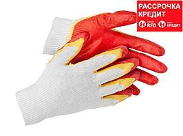 STAYER EXPERT-2, размер L-XL, перчатки с двойным латексным обливом (11409-XL)