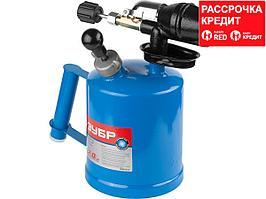 Паяльная лампа бензиновая ЗУБР 40650-2.0_z01, ЭКСПЕРТ САМОТЛОР СМ-20, с чугунным эжектором, 2,0 л