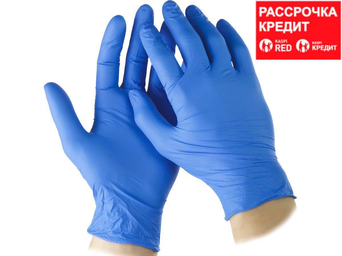 """Перчатки STAYER """"PROFI"""" нитриловые экстратонкие, XL, 100шт (11203-XL)"""
