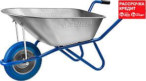 ЗУБР ПТ-100 тачка садово-строительная одноколесная, 180 кг (39901_z01)