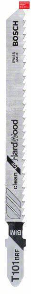 Пилочка для лобзика Bosch Clean for Hard Wood T 101 BRF, 5 шт