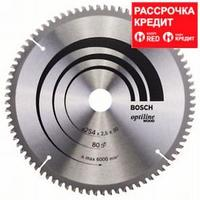 Пильный диск Bosch Optiline Wood 254 x 30, Z80