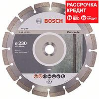 Алмазный отрезной круг по бетону Bosch Standard for Concrete 230x22.23x2.3x10 мм, 10 шт, фото 1