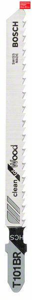 Пилочка для лобзика Bosch Clean for Wood T 101 BR, 25 шт