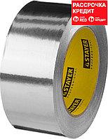 Алюминиевая лента, STAYER Professional 12268-50-50, до 120°С, 50мкм, 50мм х 50м (12268-50-50)