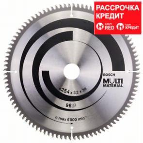 Пильный диск Bosch Multi Material 254х30, Z96