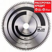 Пильный диск Bosch Multi Material 254х30, Z96, фото 1