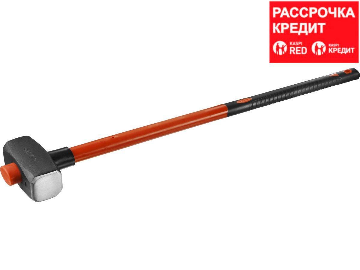 ЗУБР МАСТЕР 4 кг кувалда с удлинённой фиберглассовой рукояткой (20111-4_z02)