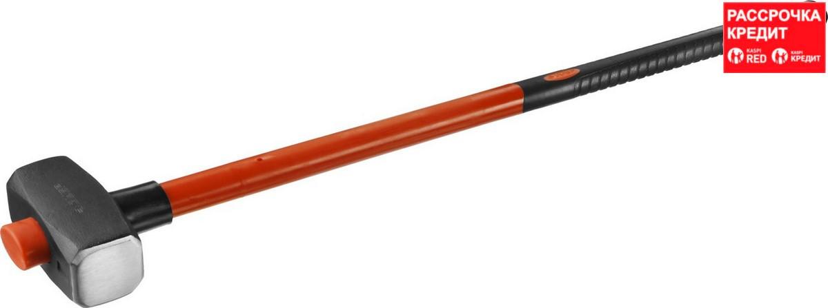 ЗУБР МАСТЕР 5 кг кувалда с удлинённой фиберглассовой рукояткой (20111-5_z02)