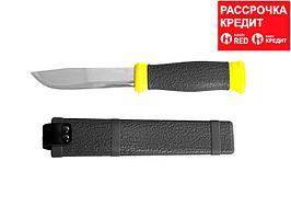 """Нож STAYER """"PROFI"""", туристический, пластиковые ножны, лезвие-110мм (47630)"""