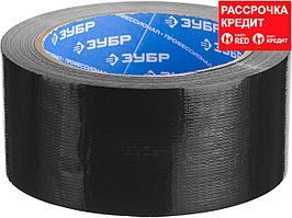 Армированная лента, ЗУБР Профессионал 12096-50-25, универсальная, влагостойкая, 48мм х 25м, черная (12096-50-25)