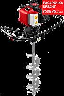 Мотобур (бензобур), d=60-150 мм, 43 см3, 1 оператор, ЗУБР (МБ1-150)