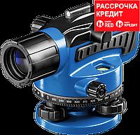 Оптический нивелир НОП-32 увеличение 32Х рабочий диапазон 120 м, ЗУБР Профессионал (34916)