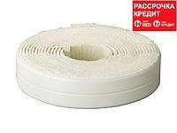 Лента бордюрная для ванн и раковин, STAYER Profi 12341-11-11, самоклеящаяся, профиль L, цвет белый, 11 х 11мм