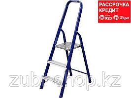 Лестница-стремянка СИБИН стальная, 3 ступени, 60 см (38803-03)