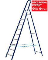 Лестница-стремянка СИБИН стальная, 10 ступеней, 208 см (38803-10)