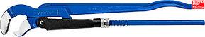 "ЗУБР Тип ""У"", №3, ключ трубный, изогнутые губки (27336-3_z01)"