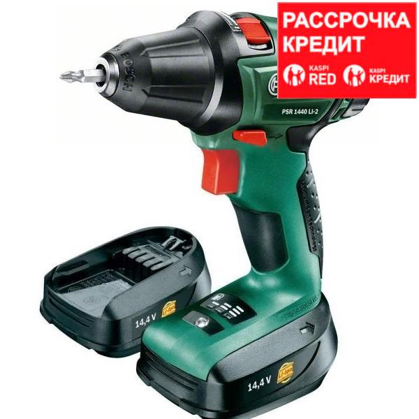 Аккумуляторный шуруповерт Bosch PSR 1440 Li-2 (2 АКБ)