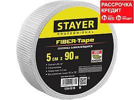 Серпянка самоклеящаяся FIBER-Tape, 5 см х 90м, STAYER Professional 1246-05-90 (1246-05-90_z01)