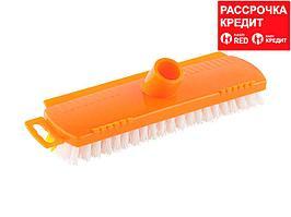 Щетка DEXX для пола, пластиковая, с короткой жесткой щетиной (39124)