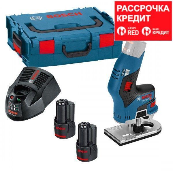 Аккумуляторный кромочный фрезер Bosch GKF 12V-08