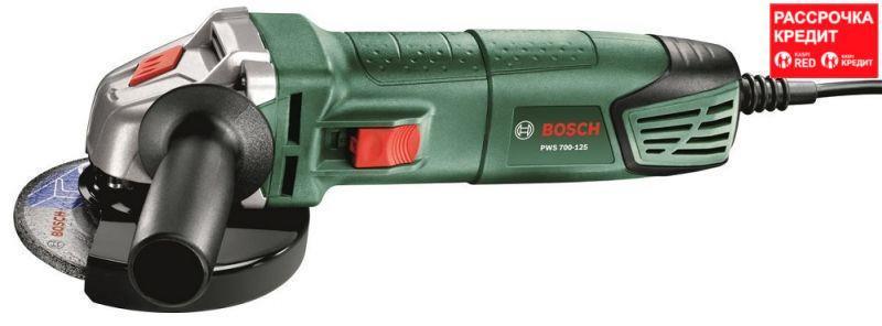 Болгарка Bosch PWS 700-125