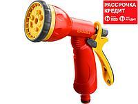 GRINDA P-8, 8 режимов, курок сзади, пистолет поливочный пластиковый (8-427370_z02)