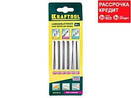 Набор полотен для лобз., двойной зуб: №3(4), №5(4), спиральн: №1(4), №3(4), по мет: №3(2), №5(2), 20шт, KRAFTOOL 15348-H20 (15348-H20_z01)