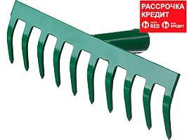 РОСТОК 10 прямых зубцов, 260x60 мм, грабли (39610-10_z01)
