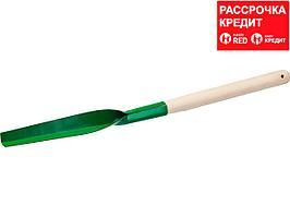 Корнеудалитель, РОСТОК 39631, с деревянной ручкой, 250x45x650мм (39631)