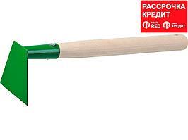 Мотыга, РОСТОК 39661, с деревянной ручкой, ширина рабочей части - 100мм (39661)