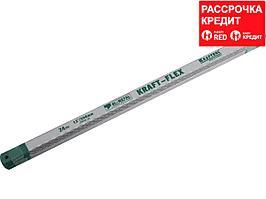 Полотно Alligator-24 по металлу, KRAFTOOL 15942-24-S50, Bi-Metal, 24TPI, 300 мм, 50 шт (15942-24-S50)
