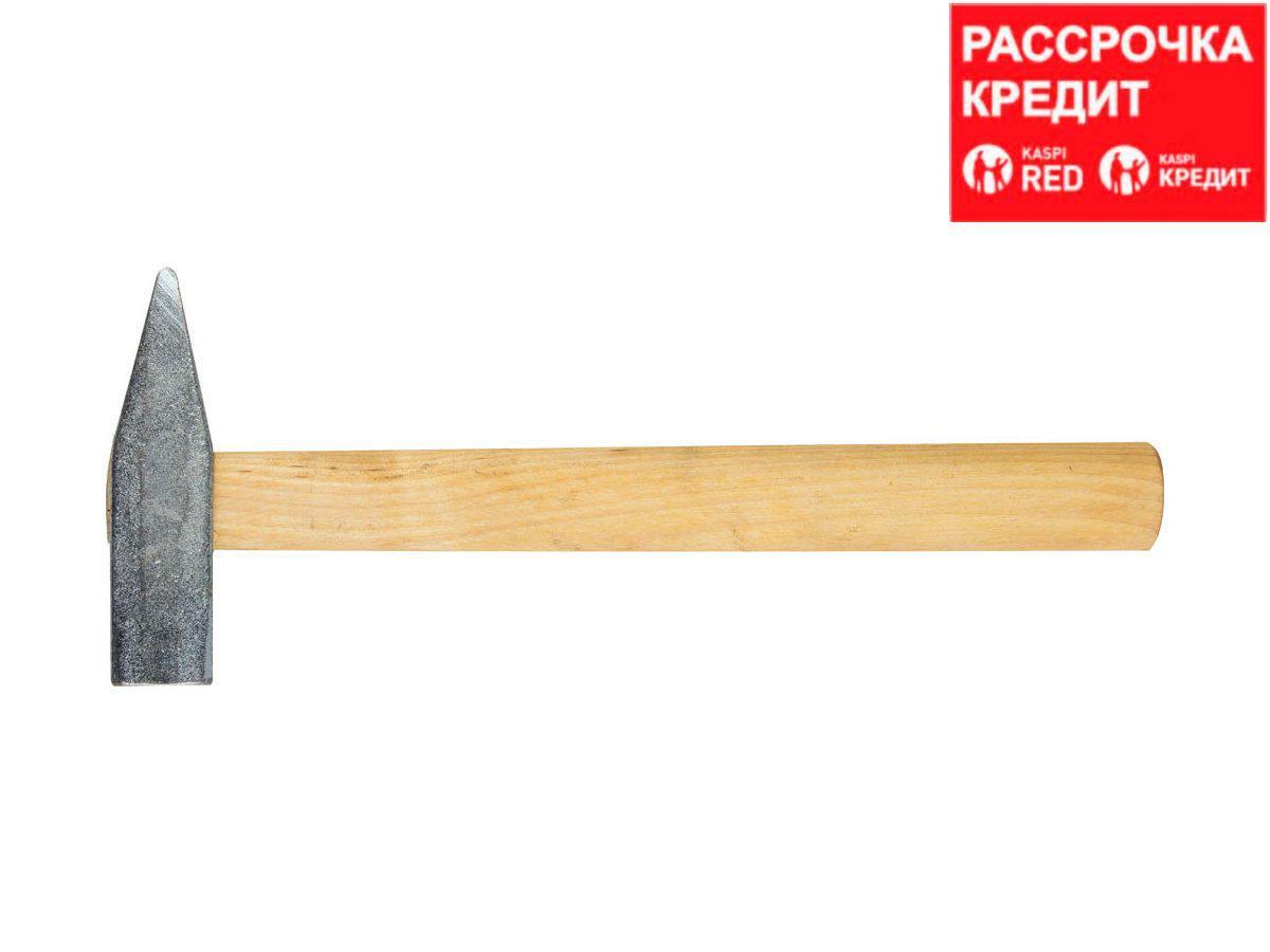 НИЗ 600 г молоток слесарный с деревянной рукояткой (2000-06)