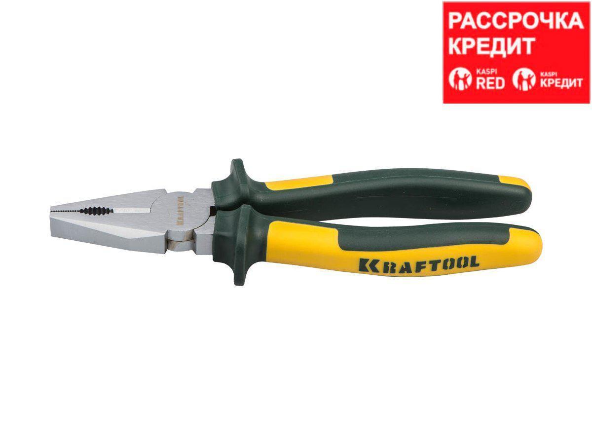 KRAFTOOL KraftMax плоскогубцы комбинированые, 180 мм (22011-1-18)